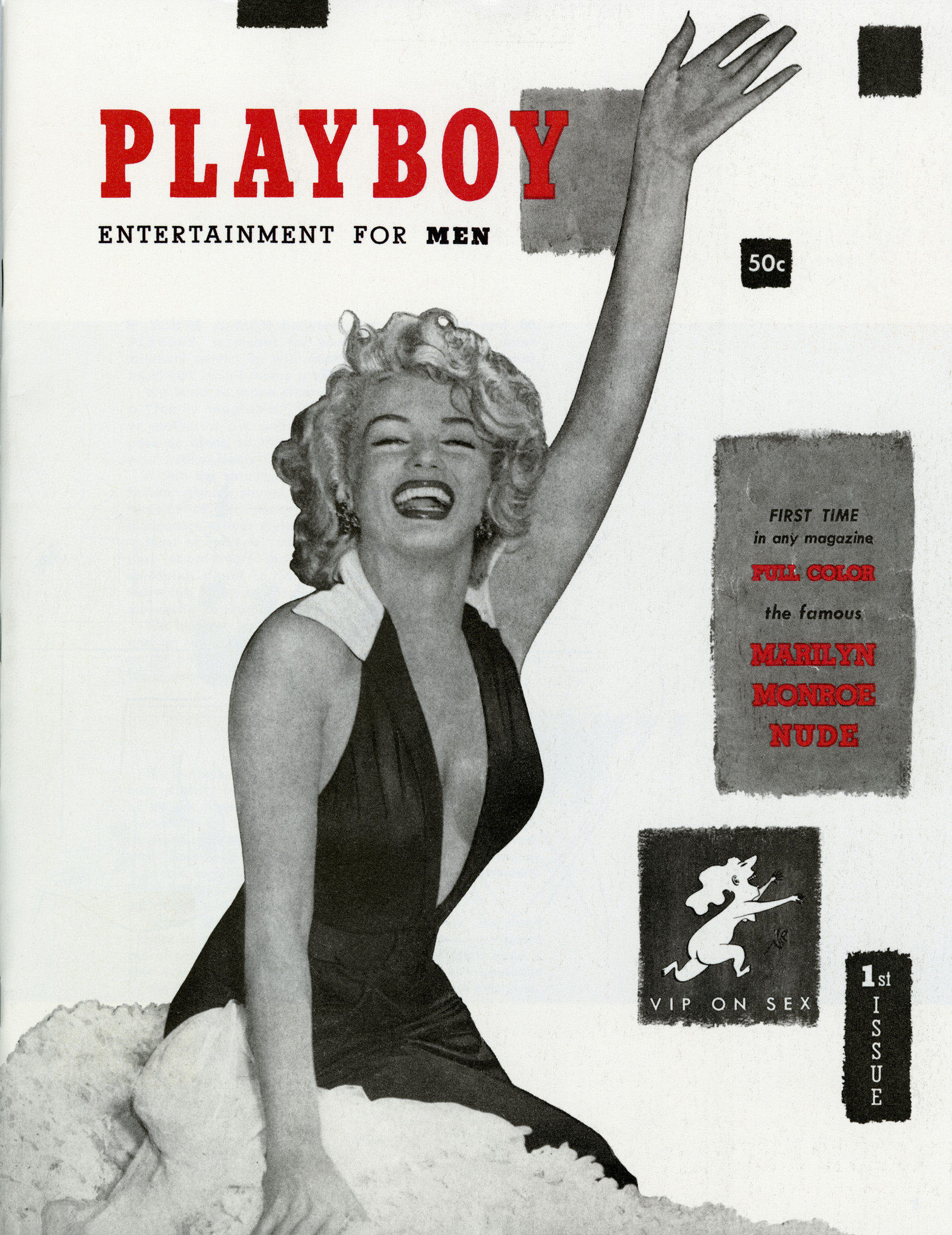 UNILAD Playboys 1953 debut featuring Marilyn Monroe6 Here Are The 10 Most Iconic Playboy Centrefolds