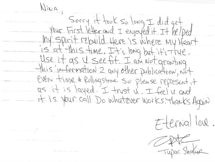UNILAD Screen Shot 2015 10 05 at 22.19.153 Letter Penned By Tupac From Prison Before His Death Is Leaked