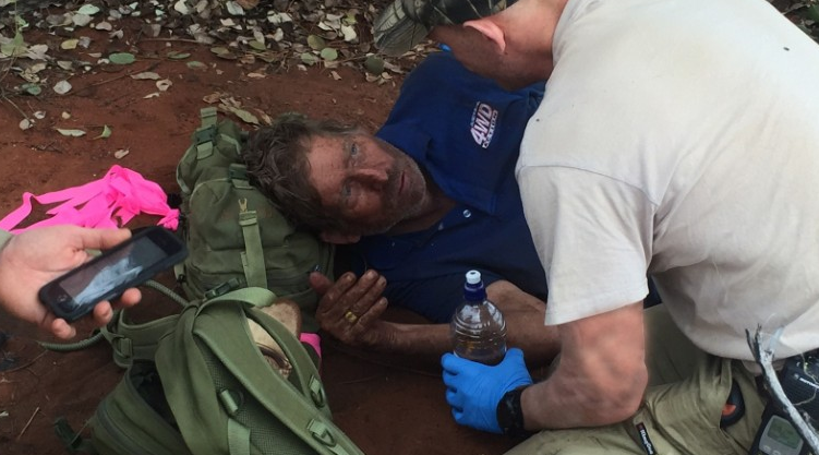 Lost Hunter Survives For Six Days Without Water By Eating Ants UNILAD Screen Shot 2015 10 13 at 23.21.495