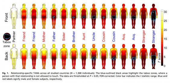 UNILAD body map220052 Body Map Shows Where Men And Women Are Comfortable Being Touched
