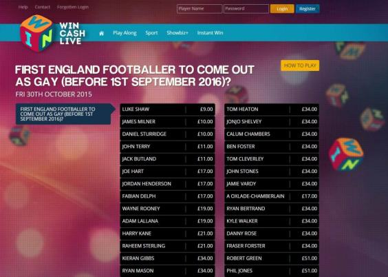 UNILAD bookies 1024x7302242 Deplorable Bookies Start Taking Odds On Which Gay Footballers Will Come Out