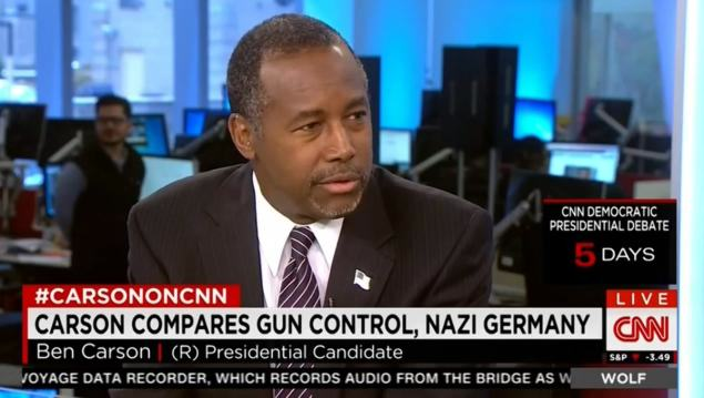 UNILAD carson5 Republican Presidential Hopeful Claims Holocaust Wouldnt Have Happened If Jews Had Guns