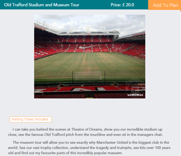 UNILAD fan exp39198 Manchester United Fan Charges Old Trafford Tourists £20 For Pub Trip