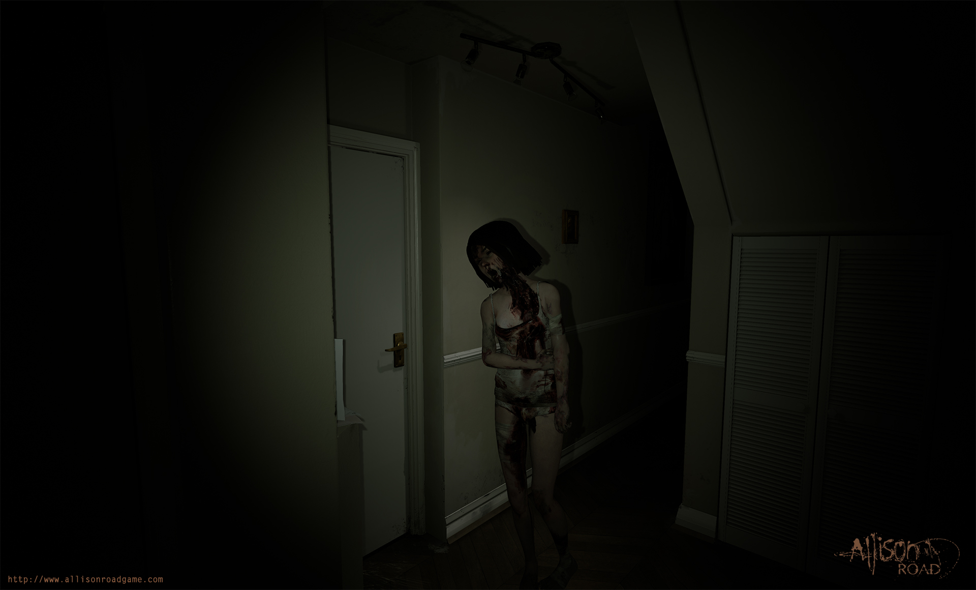 UNILAD hallway lily12 Allison Road Might Be The Horror Game Weve All Been Waiting For