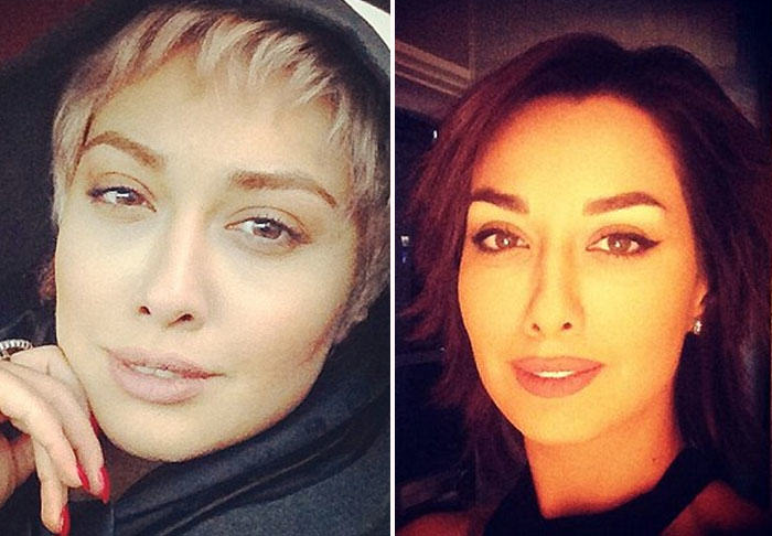 UNILAD hijab422929 Iranian Actress Forced Into Exile For Posting Selfies Without Wearing A Hijab