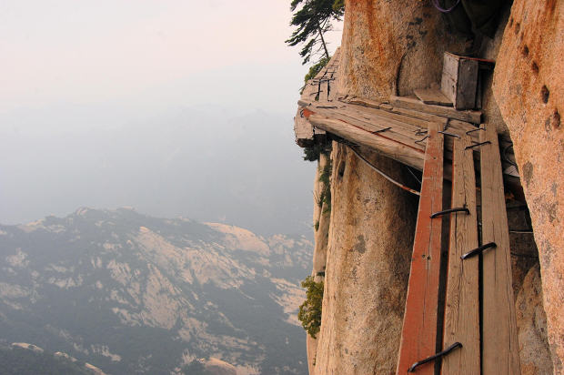 Here Are Ten Of The Most Ridiculous Bridges From Around The World UNILAD hua shan64885