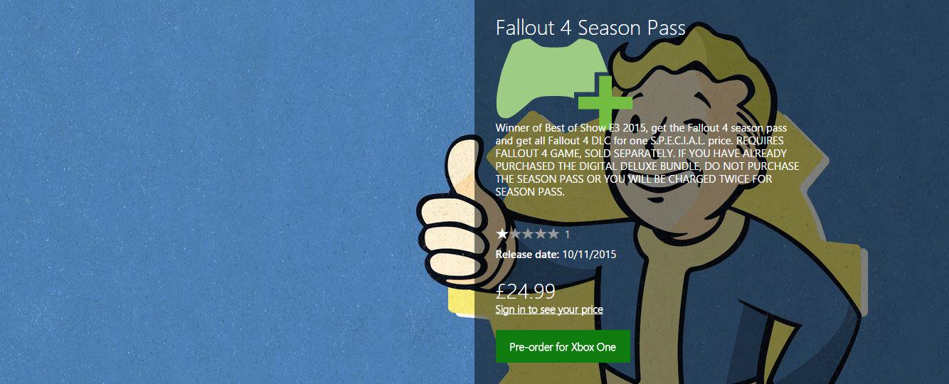 UNILAD llout8 Fallout 4 DLC Pre order Is Now Available On Xbox One