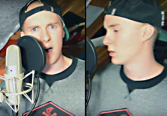 UNILAD madsthumb2 This Norwegian Rapper Sounds And Looks Like A Young Eminem