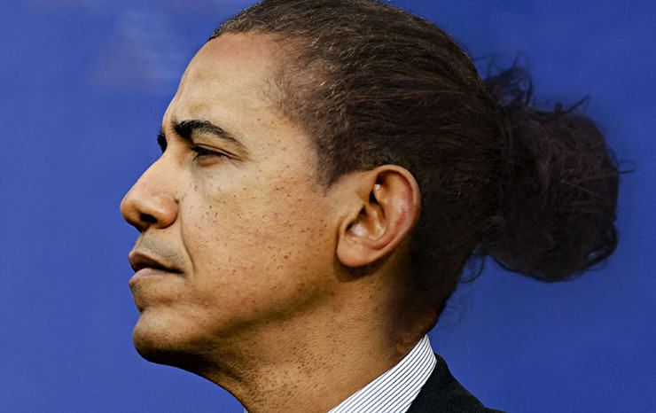 UNILAD man bun334009 Someones Photoshopped Man Buns Onto World Leaders And Theyre Great