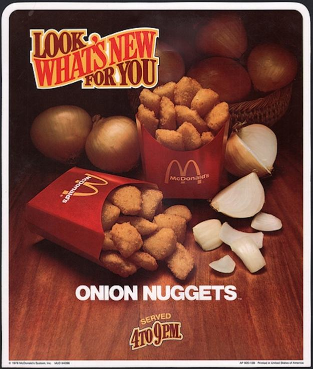 UNILAD onion4 Discontinued McDonalds Food Items You Forgot Existed