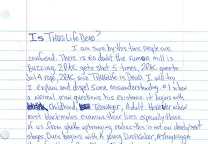 UNILAD pac2.16 Letter Penned By Tupac From Prison Before His Death Is Leaked