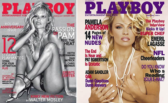 Here Are The 10 Most Iconic Playboy Centrefolds UNILAD pamela spread9