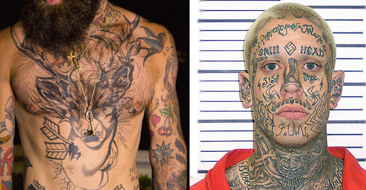 People with tattoos have aggression issues apparently for Jobs that don t allow tattoos