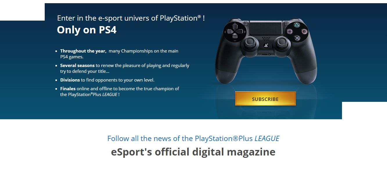 Sony To Launch Competitive Gaming Platform Playstation Plus League On PS4 UNILAD psleague29927