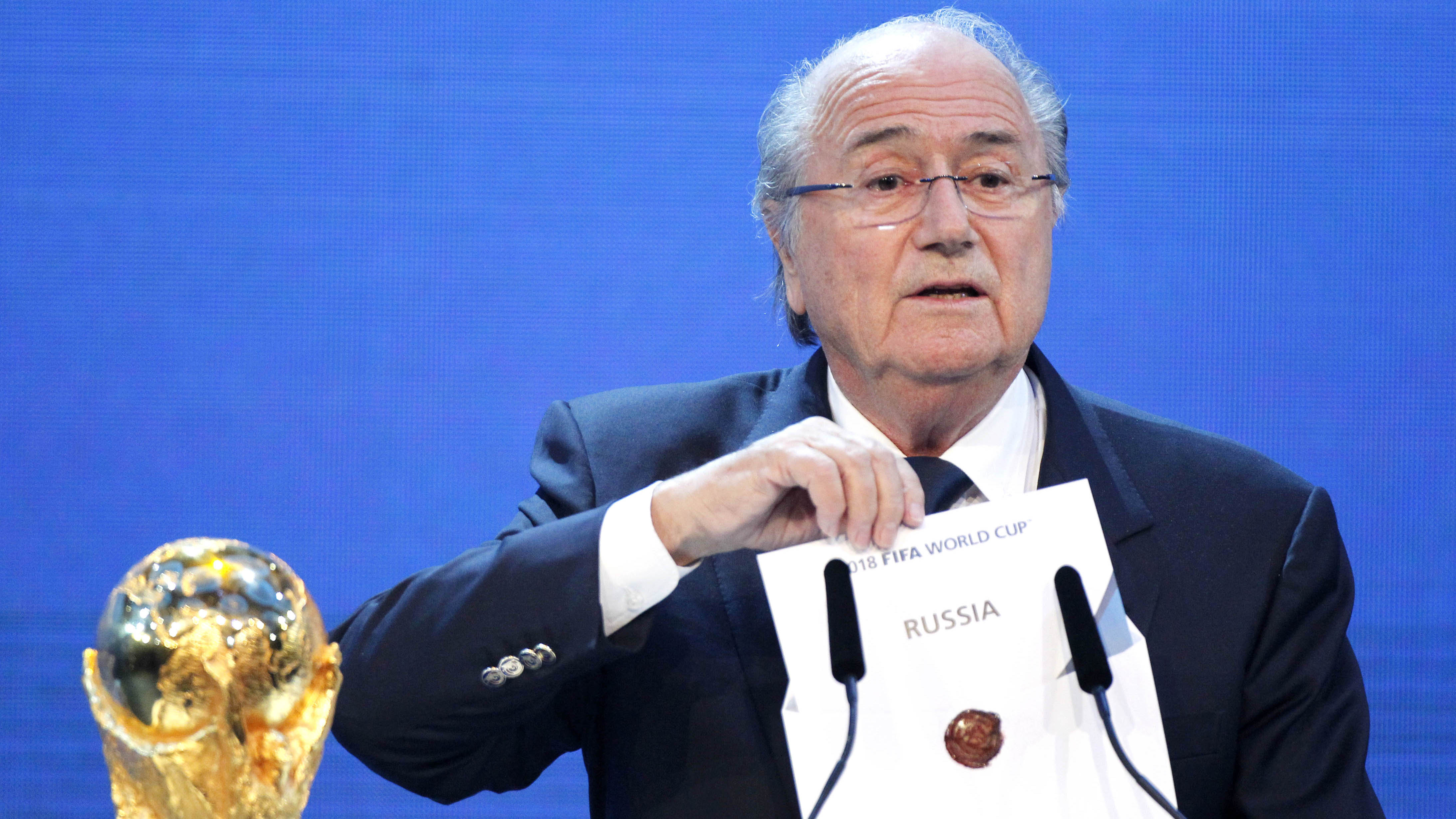 UNILAD sepp wc russia21994 Sepp Blatter Claims Russia Was Given World Cup Before Vote