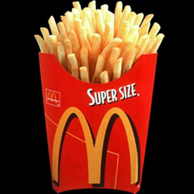 UNILAD superfries12 Discontinued McDonalds Food Items You Forgot Existed