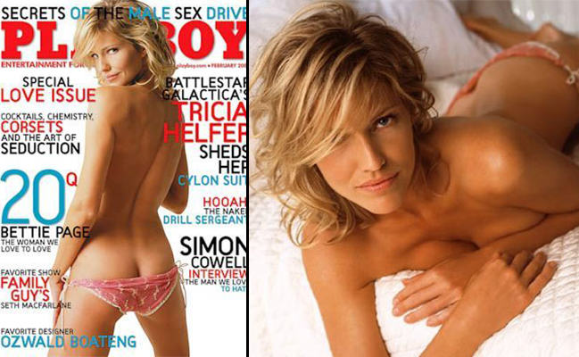 Here Are The 10 Most Iconic Playboy Centrefolds UNILAD tricia spread10