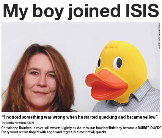 10 People Are Trolling The Shit Out Of ISIS Using Rubber Ducks