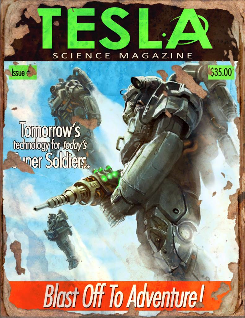 2970131 tesla  4 book   fallout 4 by plank 69 d9hqdvj Fallout 4s Complete Magazine Collection Has Been Published Online