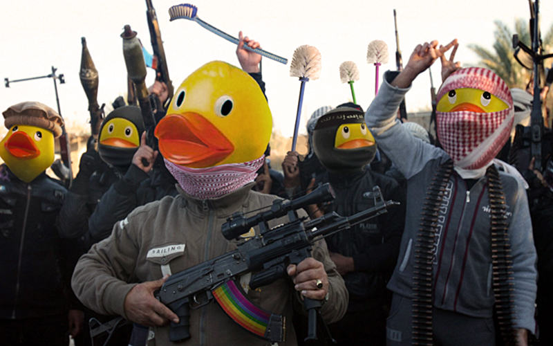 36 People Are Trolling The Shit Out Of ISIS Using Rubber Ducks