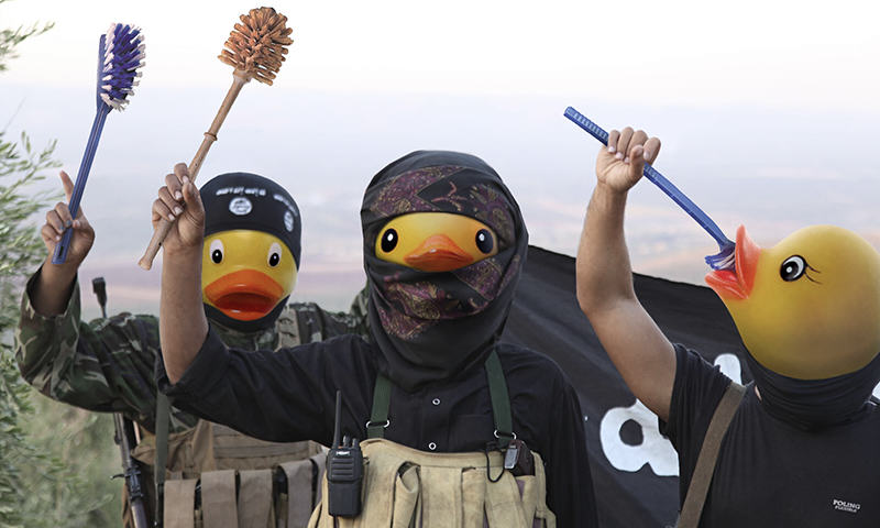 7 People Are Trolling The Shit Out Of ISIS Using Rubber Ducks