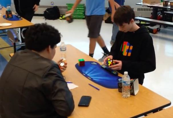 Kids Lose Their Shit After Young Lad Beats Rubiks Cube World Record LUCAS1