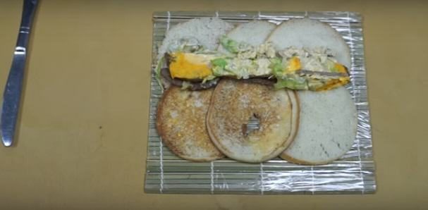 MAC 21 Insane Chef Turns McDonalds Big Mac Into Sushi
