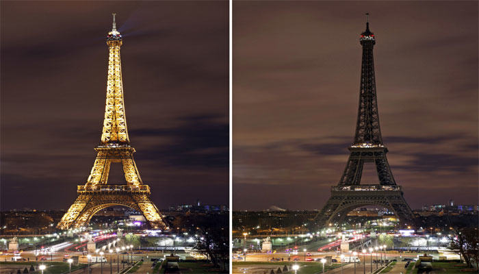 UNILAD 340534 earth hour4588 How The World Stood Strong With Paris After Last Nights Terror Attacks