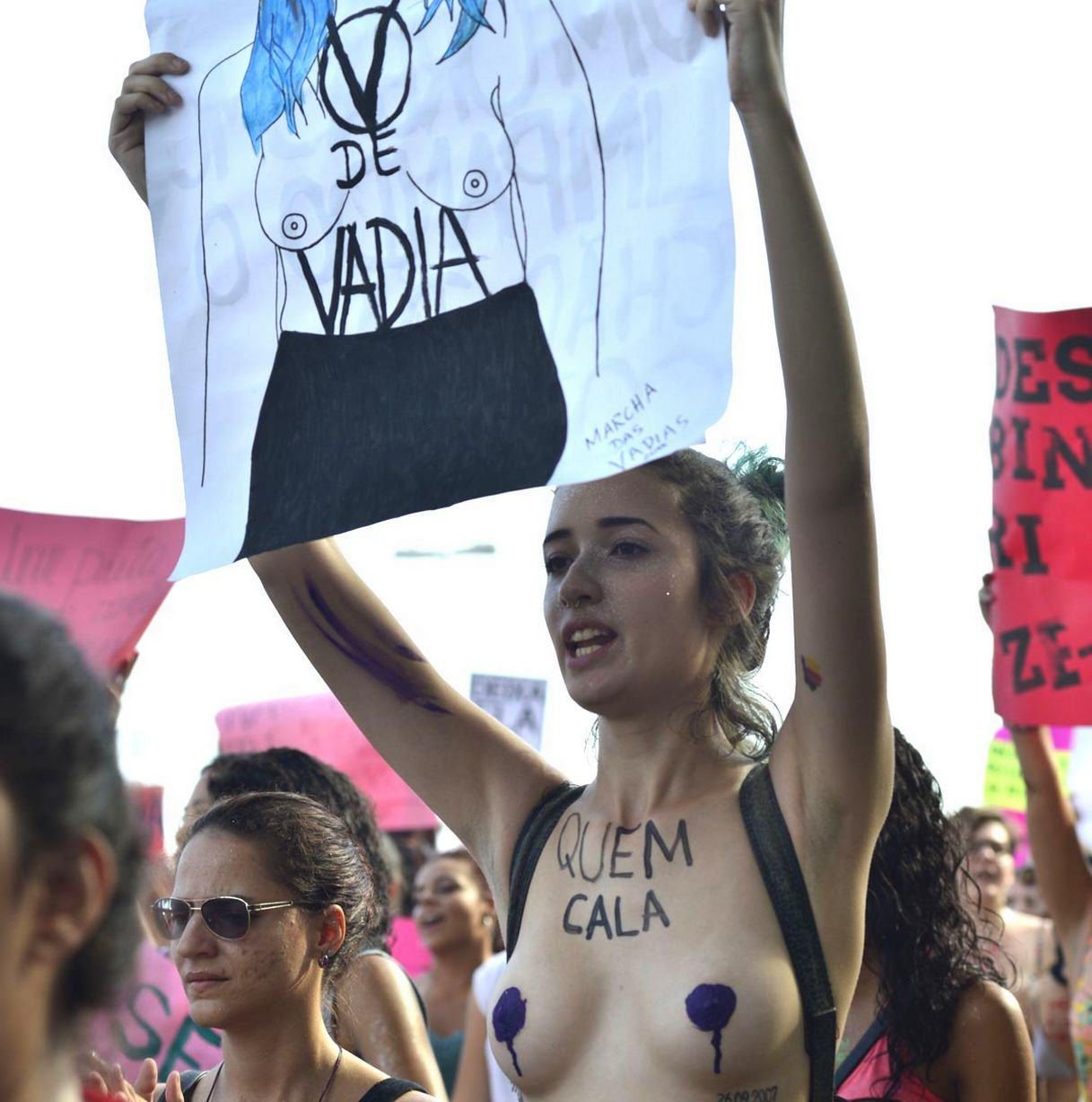 Hundreds Of Women Strip In SlutWalk Protest Against Sexual Violence UNILAD 558569