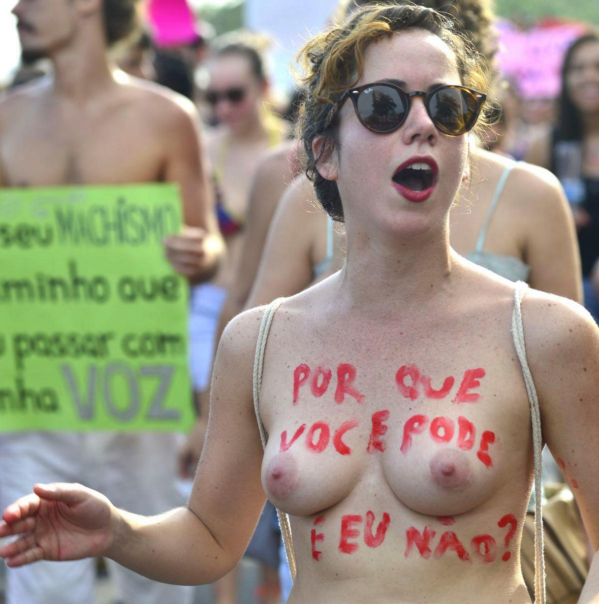 Hundreds Of Women Strip In SlutWalk Protest Against Sexual Violence UNILAD 756238