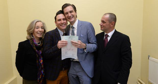 UNILAD GAYWED48510 Ireland Celebrates First Ever Same Sex Marriage After Historic Law Change
