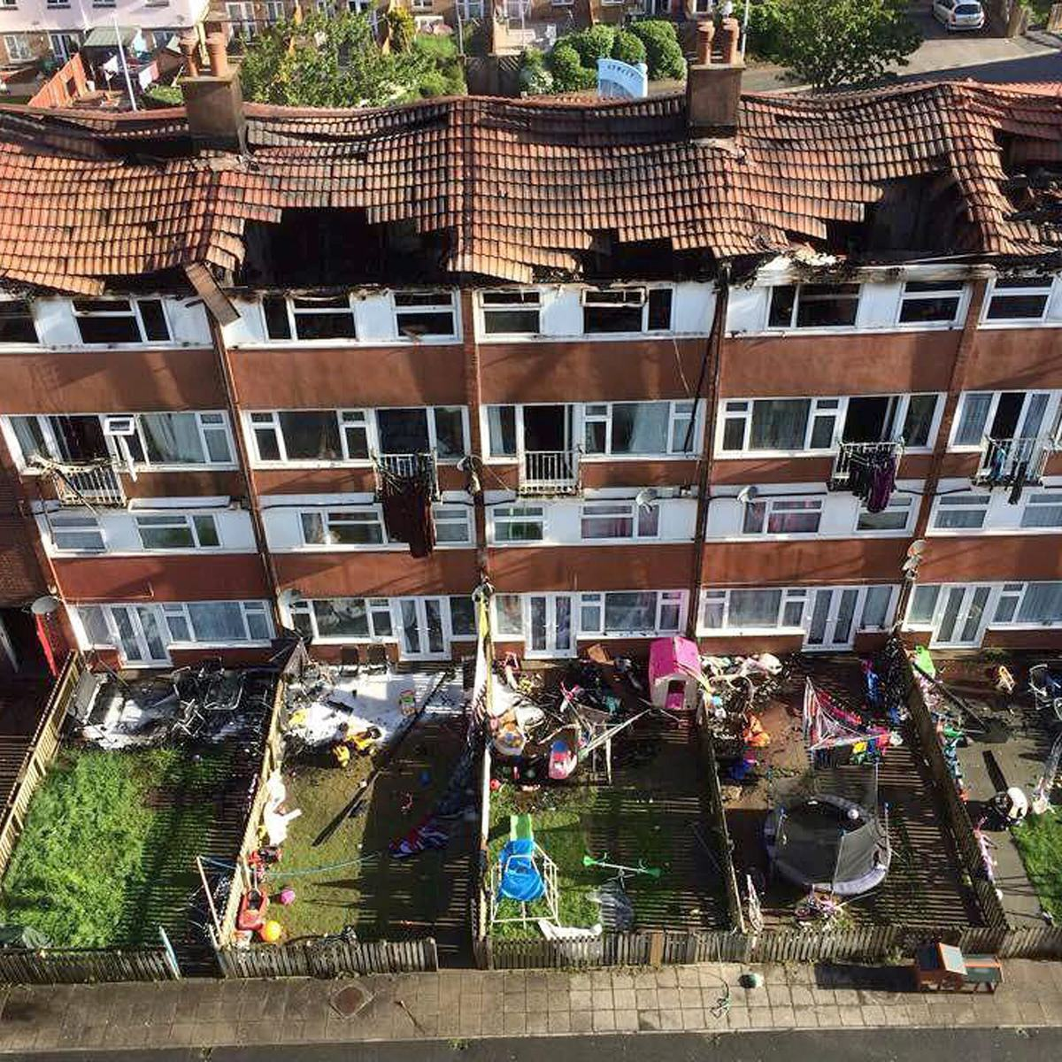 UNILAD SWNS FLAT FIRE 0267613 Boy Tries To Recreate Science Experiment, Burns Down Block Of Flats Causing £3m Damage
