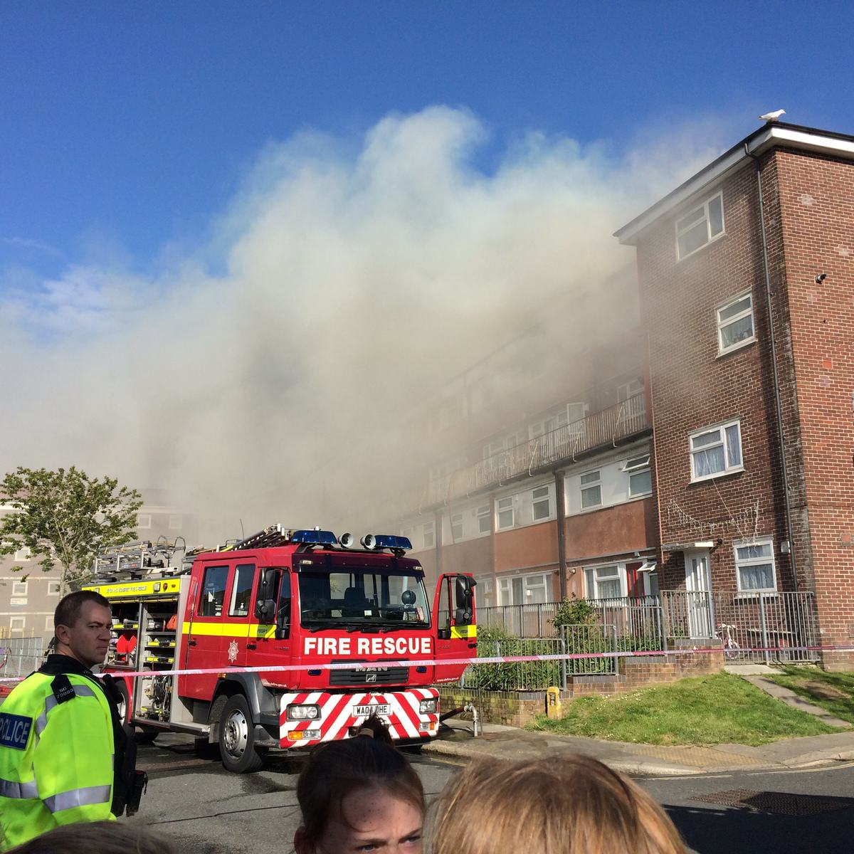 UNILAD SWNS FLAT FIRE 0323857 Boy Tries To Recreate Science Experiment, Burns Down Block Of Flats Causing £3m Damage