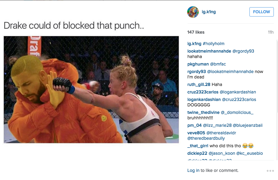 What Holly Holm Said To Ronda Rousey After The Win UNILAD Screen Shot 2015 11 16 at 3.56.07 pm35890