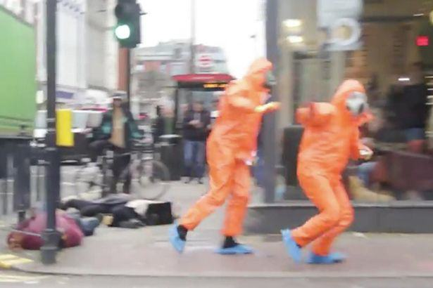 Watch Biohazard Prank Go Horribly Wrong As Jokers Accused Of Being Terrorists UNILAD biohazard 194571