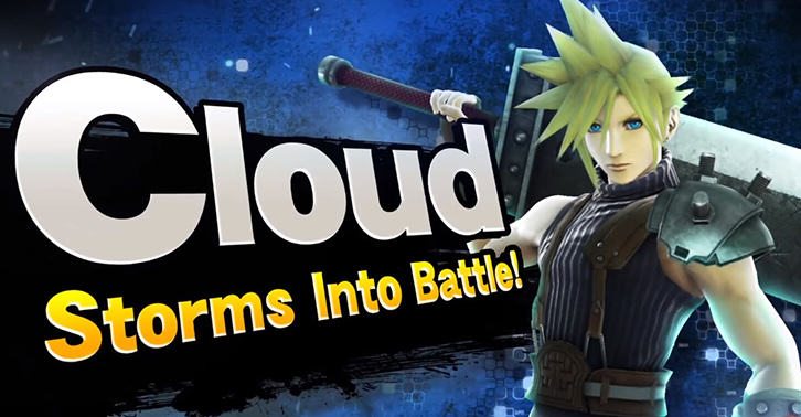 UNILAD cloud5820864690 Cloud From Final Fantasy 7 Coming To Super Smash Bros
