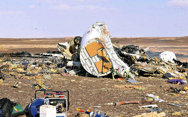 UNILAD crash110755 Russian Government Confirm Sinai Plane Disaster Caused By Terrorist Bomb Onboard