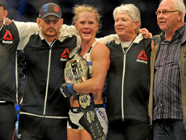 What Holly Holm Said To Ronda Rousey After The Win %name