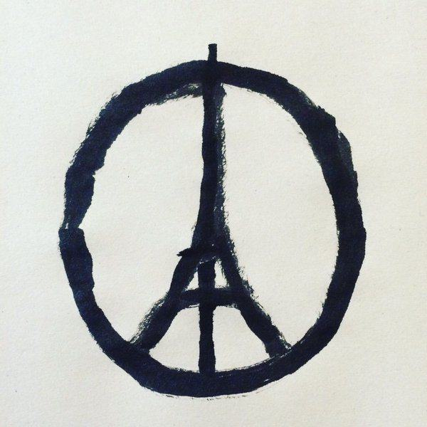 How One Mans Peaceful Creation Has Become An Iconic Symbol For Paris UNILAD peace for paris 151883