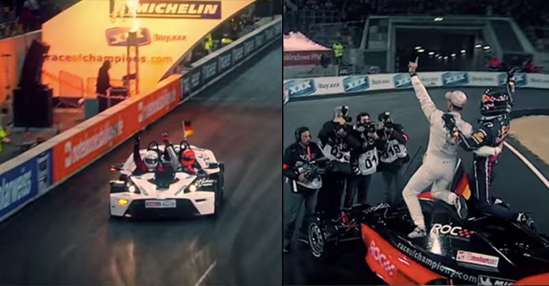 UNILAD roc74132 Race Of Champions 2015 Comes To London, Looks F*cking Insane