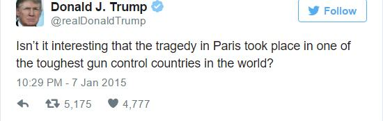 UNILAD trump 114497 Paris Attacks: Eight Social Media Rumours That Were Completely False