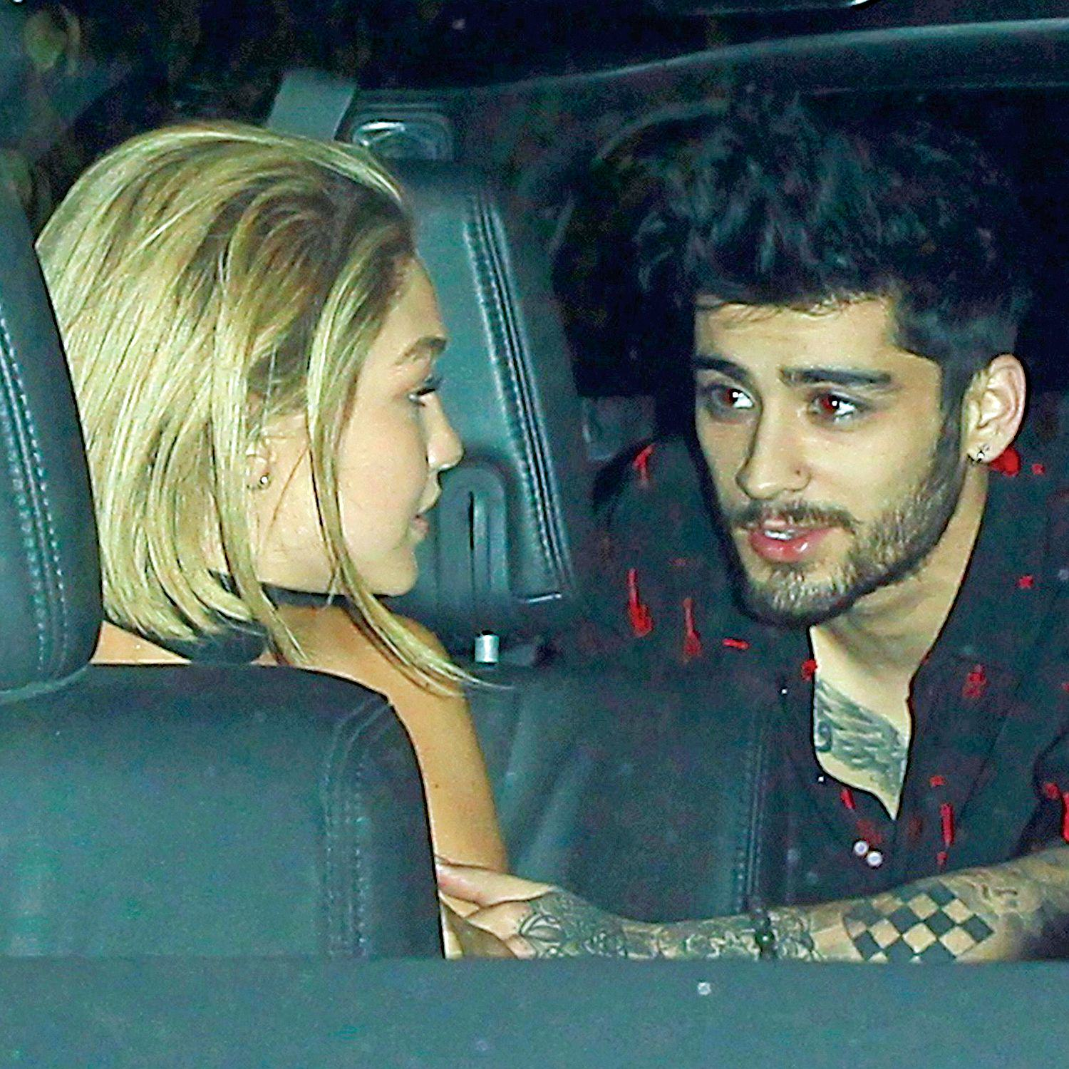 XPOSUREPHOTOSCOM Zayn Maliks Supermodel Girlfriends Family Fled Middle East As Refugees