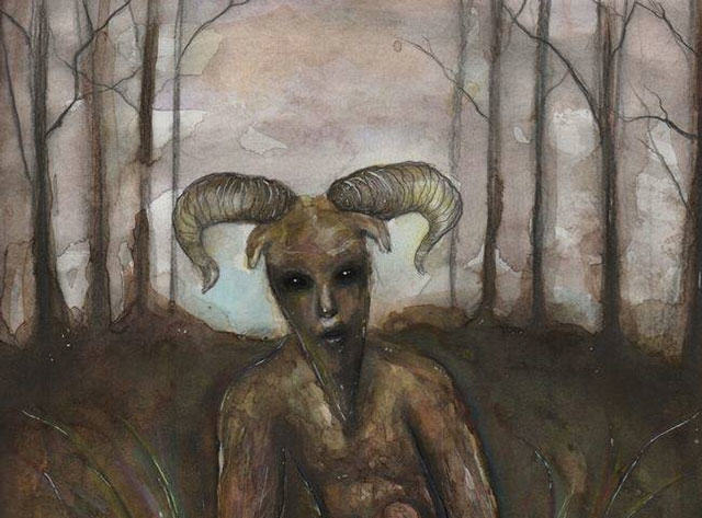 goatman book art1 Internet Loses Its Mind Over Alleged Sightings Of Goatman