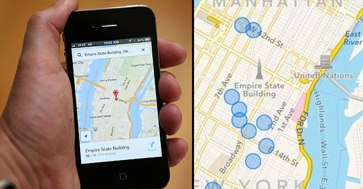 iphone map FB Theres A Hidden Map In Your iPhone Which Keeps Track Of Everywhere Youve Been