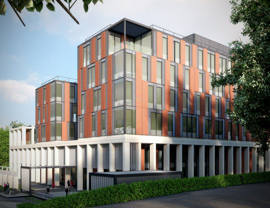 leicester university medical teaching passivhaus project low res