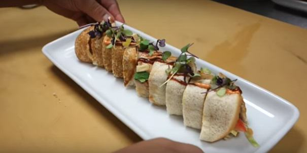 mac 11 Insane Chef Turns McDonalds Big Mac Into Sushi