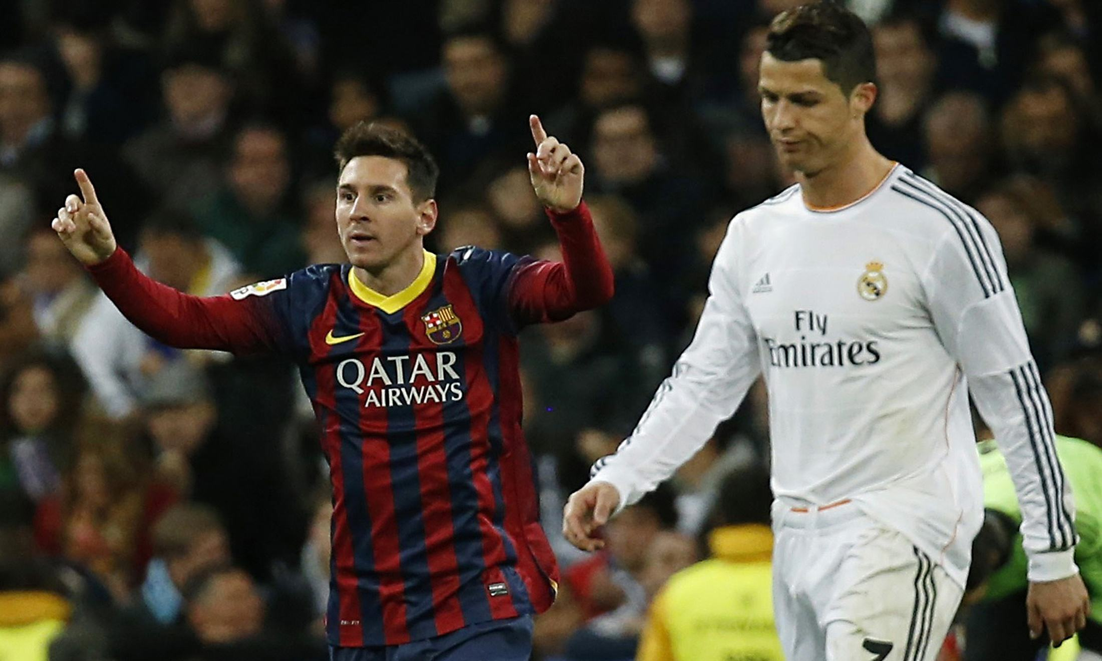 Five Times Messi Got The Better Of Ronaldo In 2015 messicr1