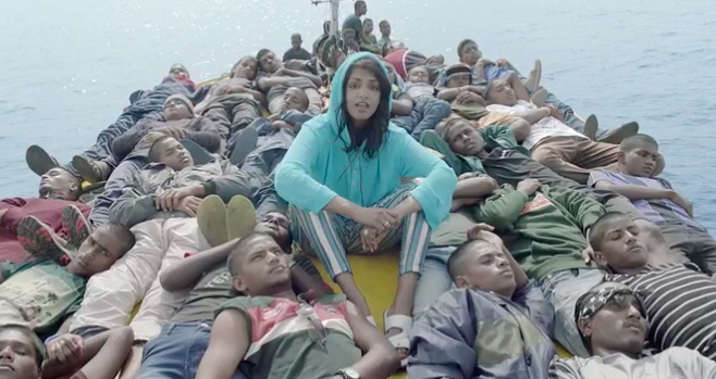 mia refugees M.I.A Travels With Refugees In Powerful New Music Video Borders