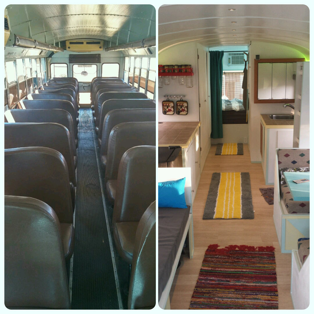 7r1FmQp Dad And Son Convert School Bus Into Home And Go On Epic Road Trip