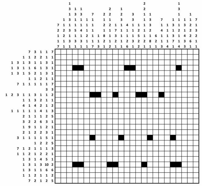 Can You Crack The Code On Britains Top Spy Agencys Christmas Card? 87132581 gridshadingpuzzle